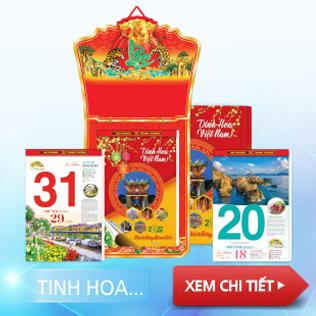 lịch bloc TINH HOA VIỆT NAM
