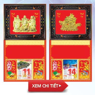 Bìa lịch khung ngọc 40x72