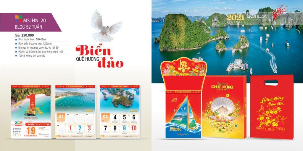 Lịch 52 tuần biển đảo quê hương