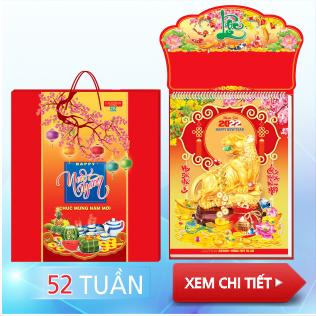 Lịch 52 tuần Sản vật Việt Nam